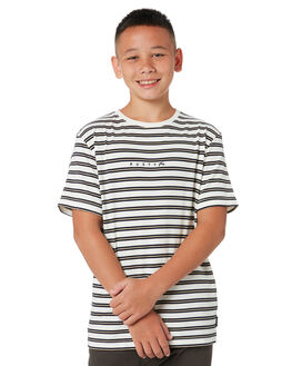 WHITE KIDS BOYS RUSTY TOPS - TTB0666WHT