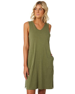 KHAKI WOMENS CLOTHING SWELL DRESSES - S8184441KHAKI