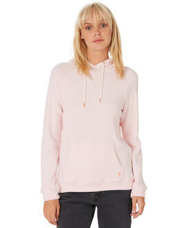 BLUSH PINK WOMENS CLOTHING VOLCOM JUMPERS - B3111801BUP
