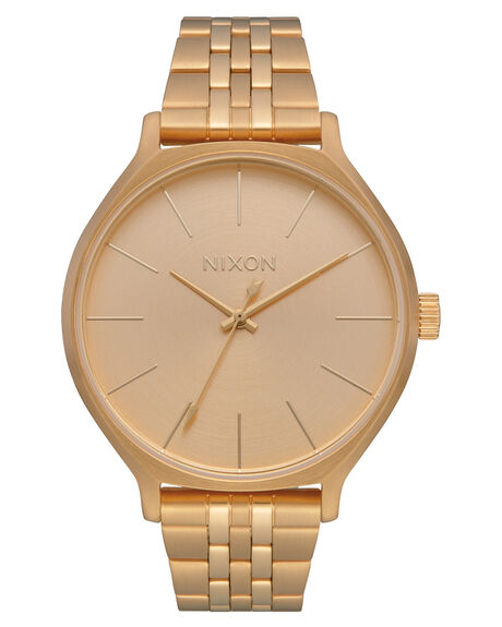 ALL GOLD WOMENS ACCESSORIES NIXON WATCHES - A1249502