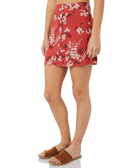 ROUGE WOMENS CLOTHING THE HIDDEN WAY SKIRTS - H8183474RED