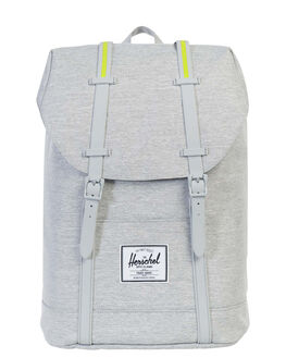 LIGHT GREY XHATCH UNISEX ADULTS HERSCHEL SUPPLY CO BAGS - 10066-01460-OSLGRY