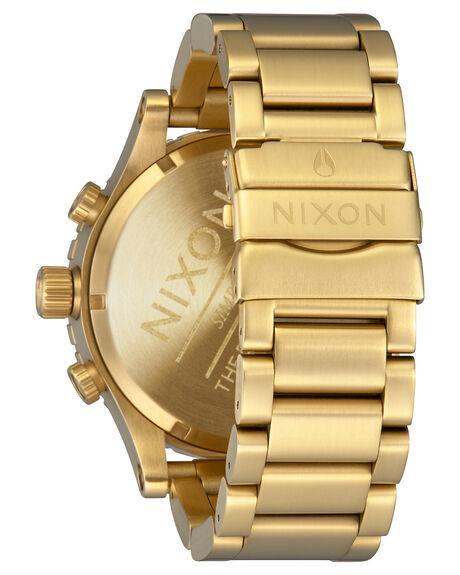 GOLD GREEN SUNRAY MENS ACCESSORIES NIXON WATCHES - A083-3416GGRN
