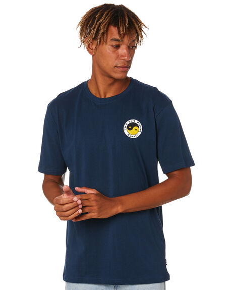 NAVY MENS CLOTHING TOWN AND COUNTRY TEES - TTE411CNVY