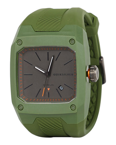 MILITARY GREEN MENS ACCESSORIES QUIKSILVER WATCHES - EQYWA03023GPB0