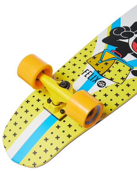 YELLOW WHITE BOARDSPORTS SKATE DUSTERS COMPLETES - 10531530YLWHT