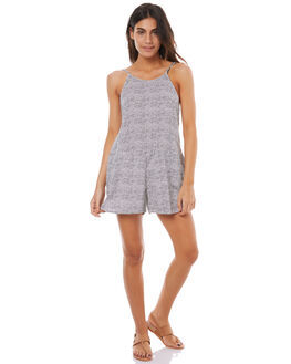 MARSHMALLOW DOTS WOMENS CLOTHING ROXY PLAYSUITS + OVERALLS - ERJWD03179XWWK