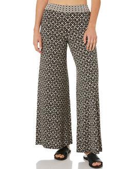 BONE BLACK WOMENS CLOTHING TIGERLILY PANTS - T382374BONE