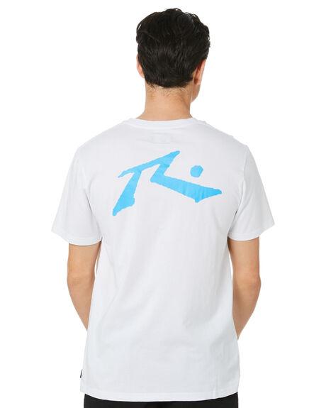 WHITE MENS CLOTHING RUSTY TEES - TTM1612WHB