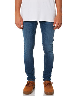 MID AUTHENTIC POWER MENS CLOTHING NUDIE JEANS CO JEANS - 112865MAP