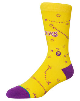 YELLOW MENS CLOTHING STANCE SOCKS + UNDERWEAR - M545A19LAKYEL