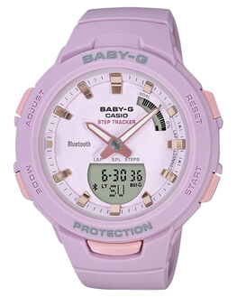 LILAC ROSE GOLD WOMENS ACCESSORIES BABY G WATCHES - BSAB100-4A2LRG