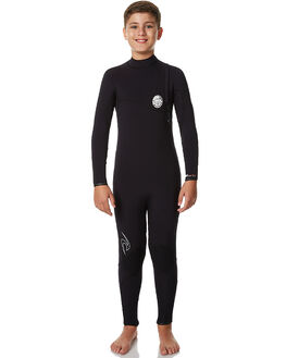 BLACK SURF WETSUITS RIP CURL STEAMERS - WSM7MB0090