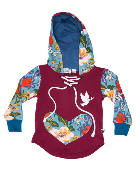 MULTI KIDS GIRLS KISSED BY RADICOOL JUMPERS + JACKETS - KR1220MULTI