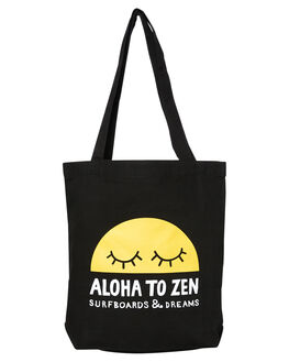 BLACK MENS ACCESSORIES ALOHA ZEN BAGS - AZ-748BLK