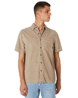 DUSTY SAGE MENS CLOTHING THRILLS SHIRTS - TH9-205FDSTSG