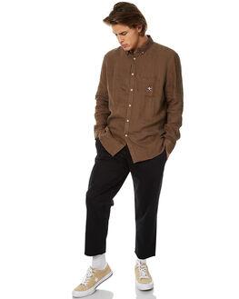 INK BLACK MENS CLOTHING BARNEY COOLS PANTS - 706-MC2INKBK