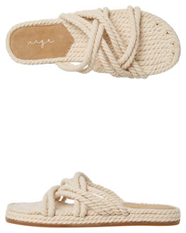 NATURAL ROPE WOMENS FOOTWEAR URGE FASHION SANDALS - URG17189NROPE