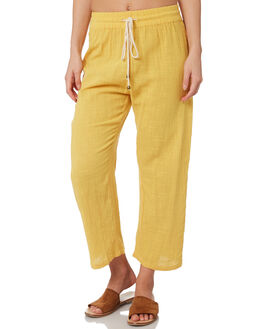 GOLD WOMENS CLOTHING SAINT HELENA PANTS - SHS19121GGOLD