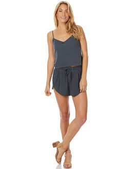 CHARCOAL WOMENS CLOTHING TIGERLILY SHORTS - T375300CHAR