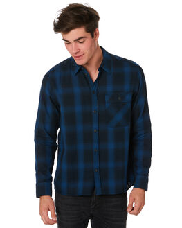 NAVY MENS CLOTHING NUDIE JEANS CO SHIRTS - 140611B25