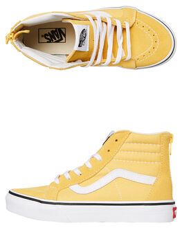 YELLOW KIDS GIRLS VANS SNEAKERS - VNA3276U4LYLLW