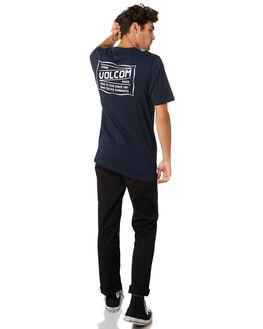 NAVY MENS CLOTHING VOLCOM TEES - A5001907NVY