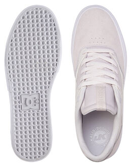 GREY/WHITE/GREY MENS FOOTWEAR DC SHOES SNEAKERS - ADYS300569-XSWS