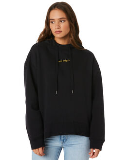 BLACK WOMENS CLOTHING RPM JUMPERS - 9AWT10BBLK