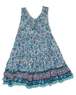INDAH BLUE KIDS TODDLER GIRLS SWEET CHILD OF MINE DRESSES + PLAYSUITS - MALIDRESS-IND