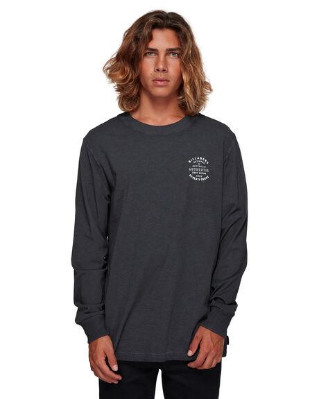 BLACK MENS CLOTHING BILLABONG TEES - BB-9591170-BLK