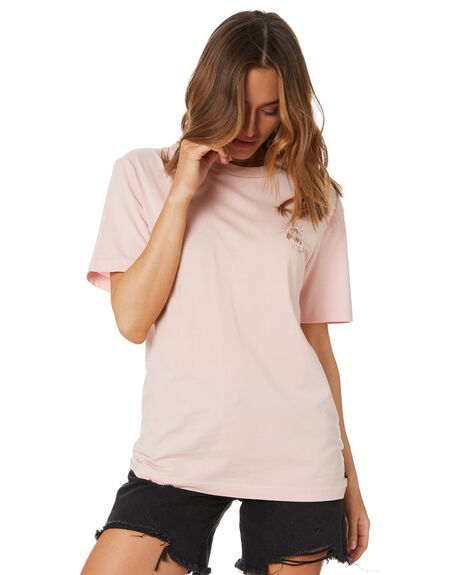 PINK WOMENS CLOTHING RUSTY TEES - TTL1145PINK