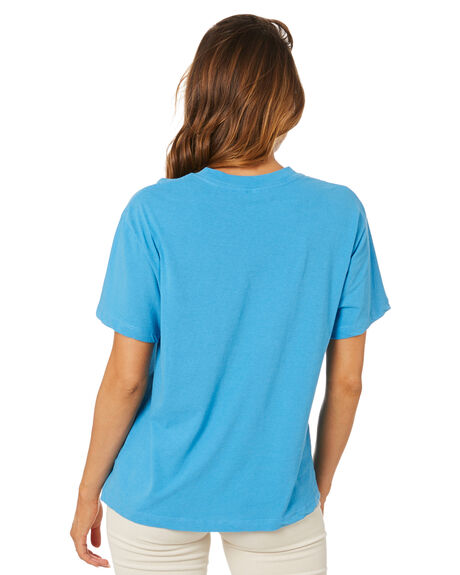 BLUE WOMENS CLOTHING ROLLAS TEES - 14232195