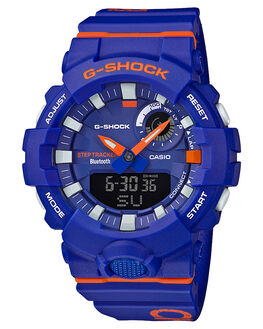 PURPLE ORANGE MENS ACCESSORIES G SHOCK WATCHES - GBA800DG-2APUROR