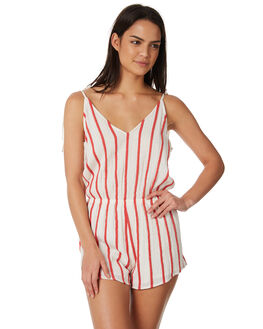 RED WOMENS CLOTHING RIP CURL PLAYSUITS + OVERALLS - GDRCS80040