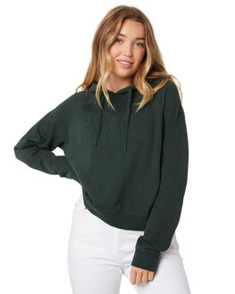 BOTTLE GREEN WOMENS CLOTHING SILENT THEORY JUMPERS - 6015008BGRN