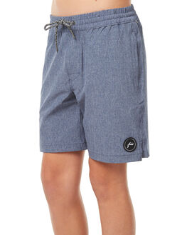 NAVY BLUE KIDS BOYS RUSTY BOARDSHORTS - BSB0323NVB