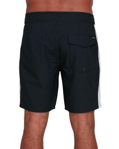 BLACK/WHITE MENS CLOTHING RVCA BOARDSHORTS - RV-R305402-BKW
