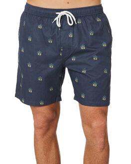 NAVY MENS CLOTHING SWELL BOARDSHORTS - S5201232NAVY