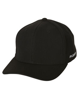 BLACK MENS ACCESSORIES FLEX FIT HEADWEAR - 1616213BLK