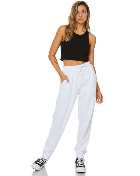 WHITE WOMENS CLOTHING STUSSY PANTS - ST116600WHT