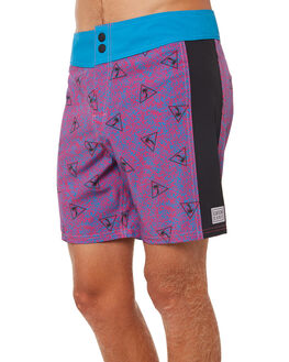 TURQUOISE MENS CLOTHING CATCH SURF BOARDSHORTS - A8TRK002TUR