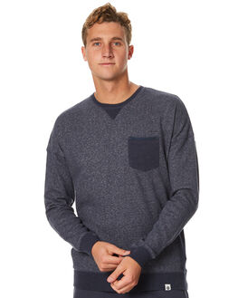 NAVY MENS CLOTHING OURCASTE JUMPERS - F1018NVY