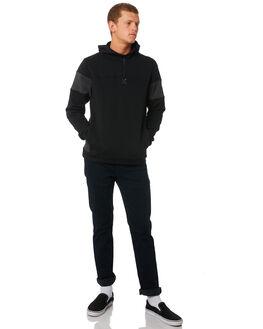 BLACK HEATHER MENS CLOTHING HURLEY JUMPERS - AJ2232032