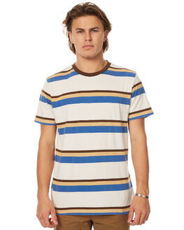 OFF WHITE MENS CLOTHING BRIXTON TEES - 02288OWHT