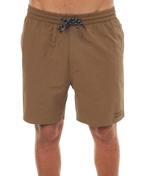 KHAKI MENS CLOTHING RPM BOARDSHORTS - 7SMB01BKHA
