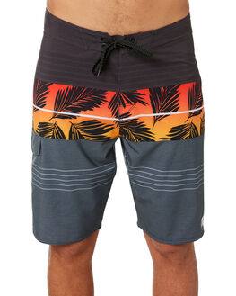 BLACK RED MENS CLOTHING RIP CURL BOARDSHORTS - CBORO14019