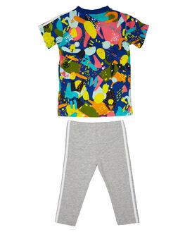 MULTI KIDS BABY ADIDAS CLOTHING - ED7710MLT