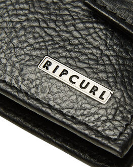 BLACK MENS ACCESSORIES RIP CURL WALLETS - BWLLR10090