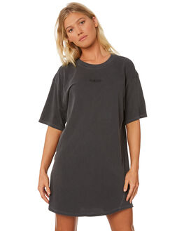 ANTHRACITE WOMENS CLOTHING HURLEY DRESSES - AR6693060